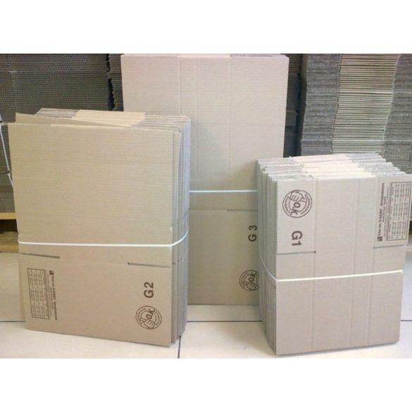 Papír doboz PD-0  200mm x 150mm x 130 mm