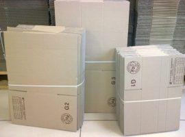 Papír doboz G9 400mm x 400mm x 260 mm