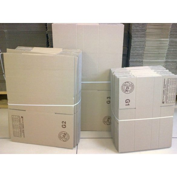 Papír doboz PD-9  400mm x 400mm x 260 mm