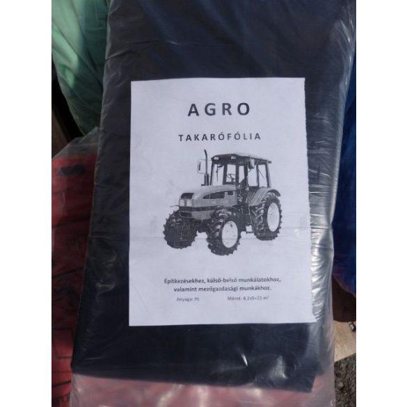 Takarófólia AGRO fekete 21 m2